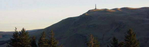 Monument Hill from Balbeg_