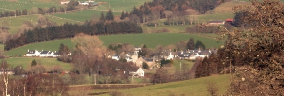 Straiton from above