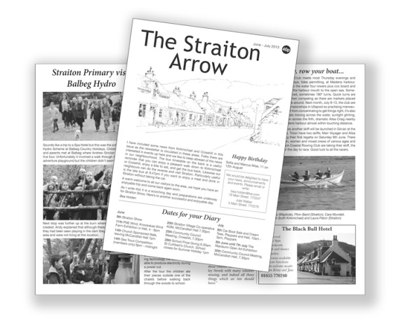 Latest edition of Straiton Arrow