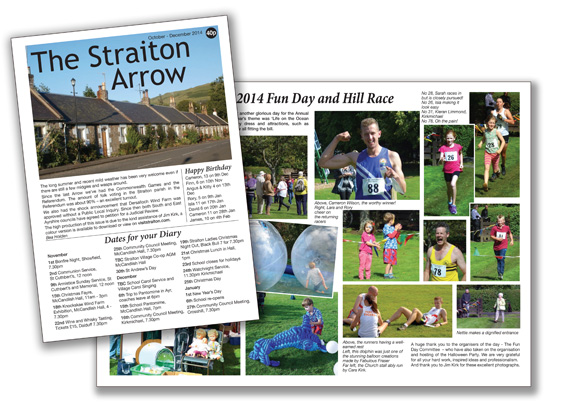 Image of Straiton Arrow newsletter